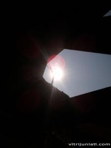 Ini gerhana mataharinya?