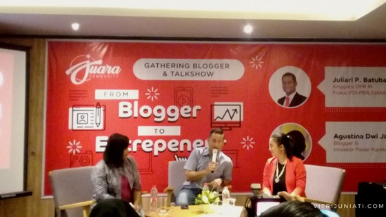 From Blogger to Entrepreneur