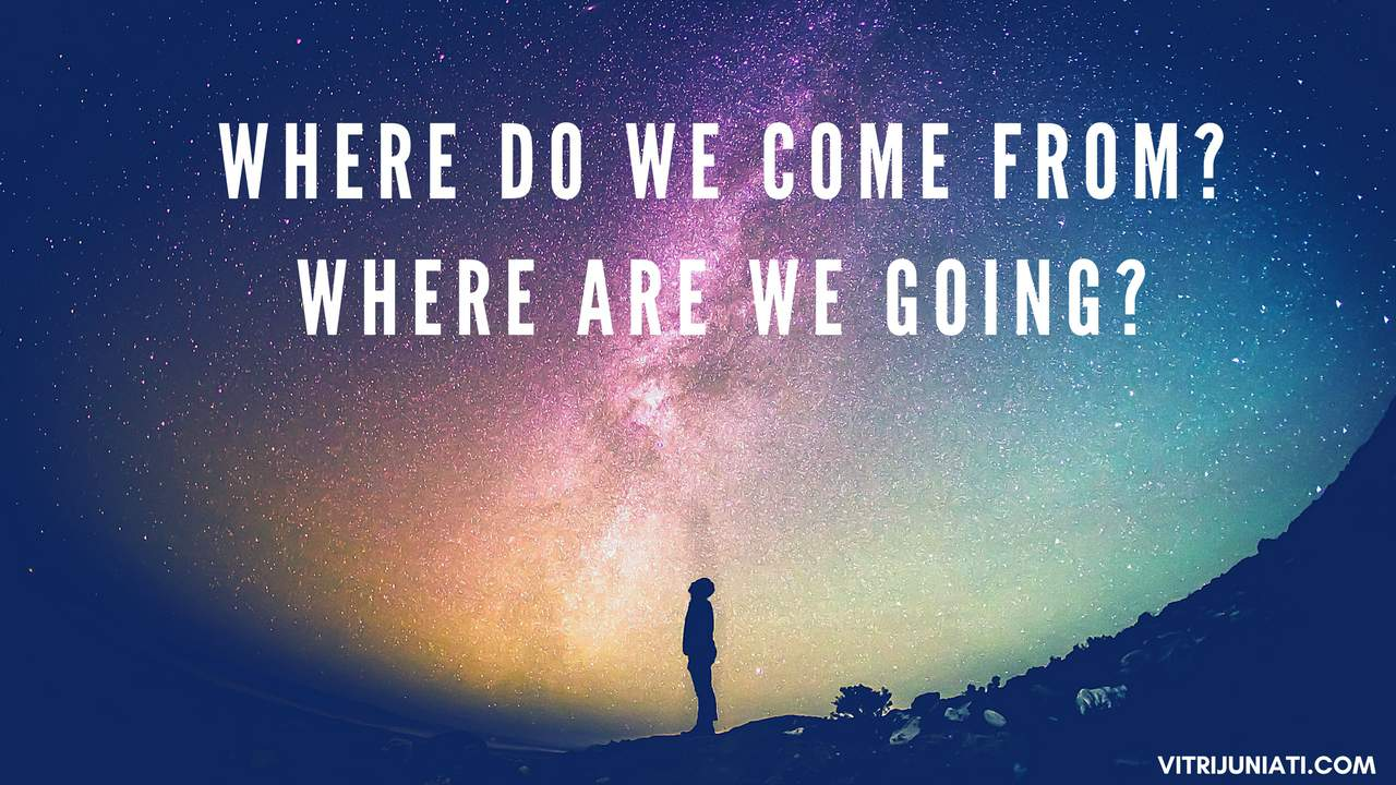 WHERE DO WE COME FROM? WHERE ARE WE GOING?-DAN BROWN