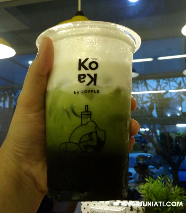 Koka Cheese Tea Rasa Original di Spot Favorit