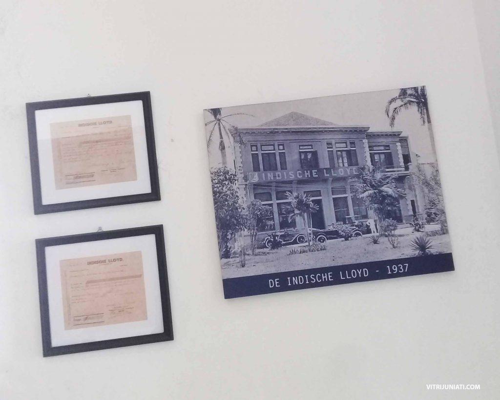 Foto perusahaan asuransi pertama di Indonesia De Indische Lloyd milik Oei Tiong Ham Concern