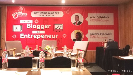 From Blogger to Entrepreneur